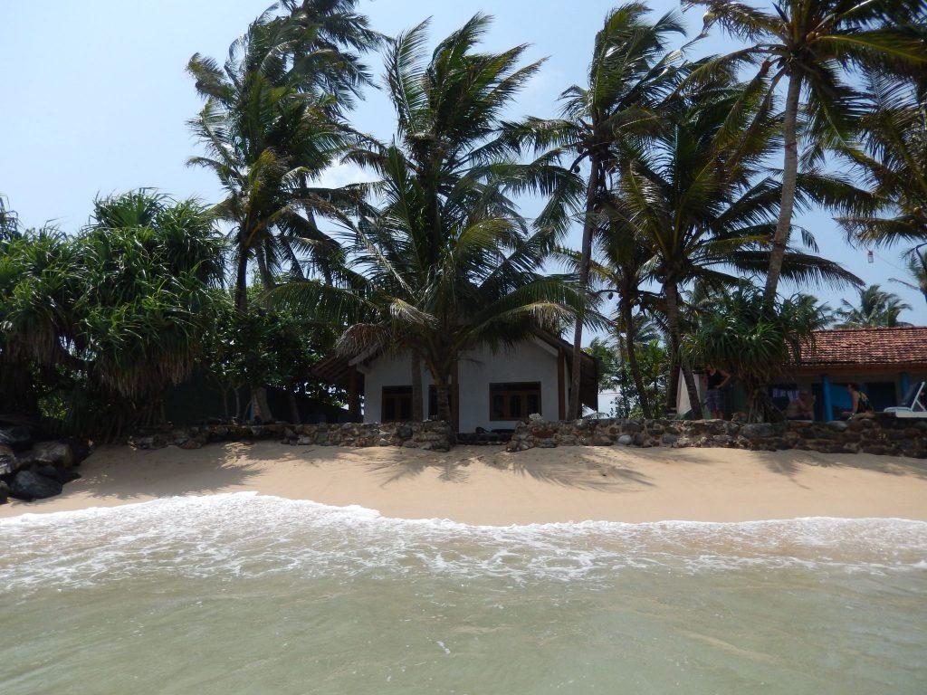 Villa Sloot vanaf de oceaan bekeken