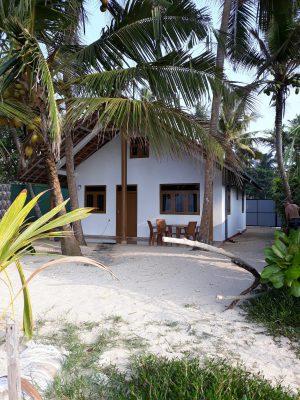 Strandhuis Sri Lanka Villa Sloot: Strandzijde